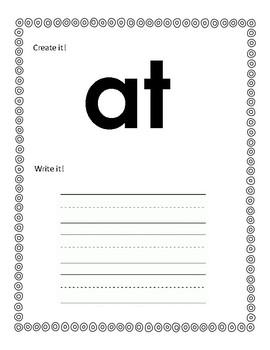 Playdough Sight Words Lists A-D