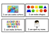 Playdough Task Cards