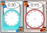 Playdough Time Mats - O'clock, Half Past, Quarter To and Past #springintosavings