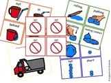Playdough Visuals: Linguistic Concepts, Opposites, Pragmat