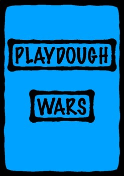 Playdough Wars: A socially collaborative team game for all ages (sculpting)