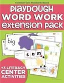 Playdough Word Work Extension Pack