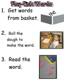 Playdough Words