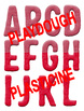 Playdough and Plasticine - Red