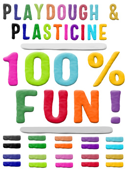 Playdough and Plasticine - White