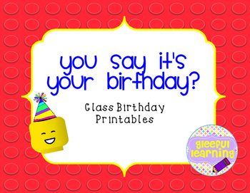 Playful Brick Class Birthdays