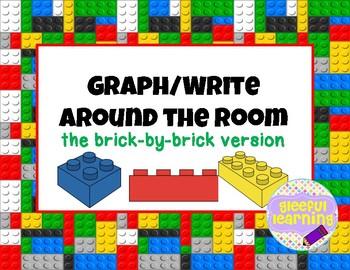 Playful Brick Graph/Write Around the Room