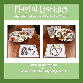 Playful Learning: Alphabet Letters and Beginning Sounds