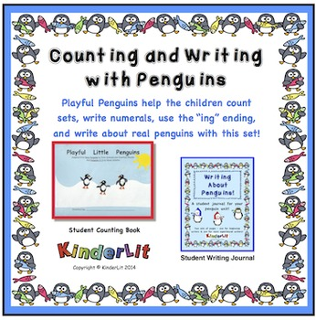 Penguin Counting And Writing