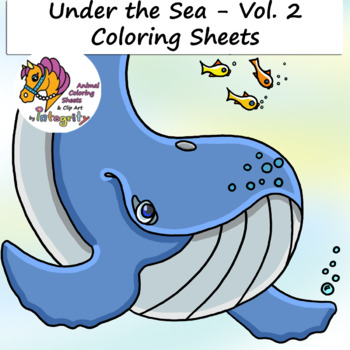 35 Best Free Printable Ocean Coloring Pages Online | 350x350