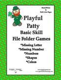 Playful Patty Basic Skill File Folder Games