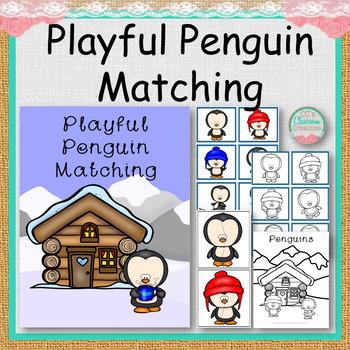 Playful Penguin Matching