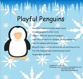 Playful Penguins Smartboard Activities