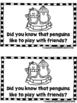 Playful Penguins (A Sight Word Emergent Reader)