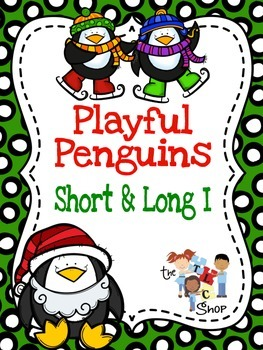 Playful Penguins: CVC and CVCe Words with Short I
