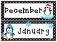 Editable Playful Penguins Calendar Super Pack