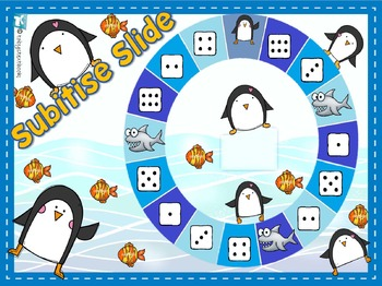 Playful Penguins Numbers to 10 Games BUNDLE