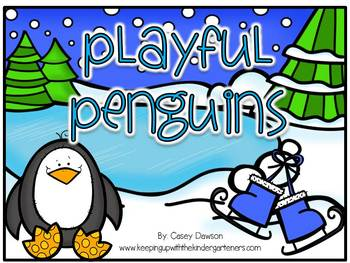Playful Penguins (Literacy and Math Fun for K-1)