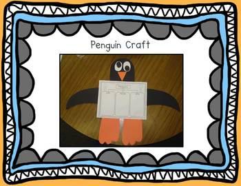 Playful Penguins {Math Activities and Craft}