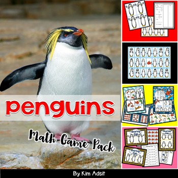 Penguins Math Game Pack