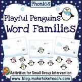 Word Families - Playful Penguins