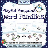 Word Families - Playful Penguins
