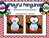 Playful Penguins! { craftivity and printables }