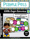 Playful Pets Missing Numbers 1-10