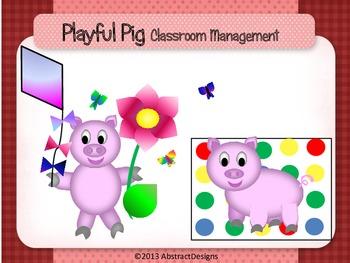 Playful Pig Classroom Management Set