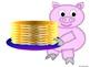 Playful Pig Cutouts