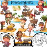 Playful Pirates Clip Art Collection