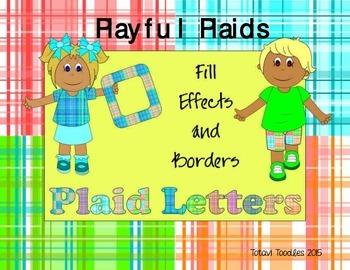 Playful Plaids * Backgrounds * Designs