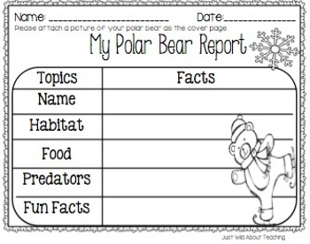 Playful Polars! (craftivity & printables)