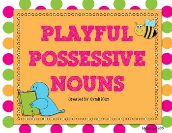Playful Possessive Nouns Singular and Plural