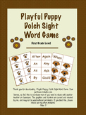 Playful Puppy Dolch Sight Game-1st Grade