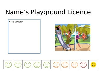 Playgroud Licence