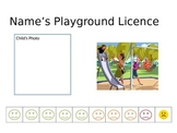 Playgroud Licence