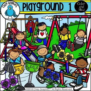 Playground 1 Clip Art Set - Chirp Graphics