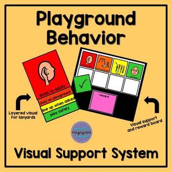 Playground Behavior Visual Support