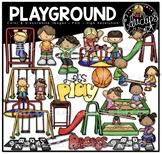 Playground Clip Art Bundle {Educlips Clipart}
