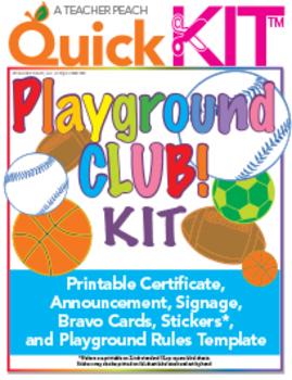 Playground Club Quick Kit™