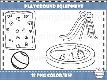 Playground Equipment Clip Art