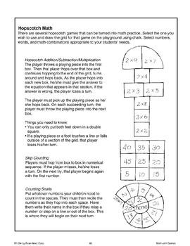 Playground Games (Math)