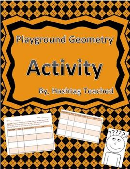 Playground Geometry Identification Activity