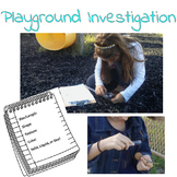 Playground Investigation of Matter Response Sheet