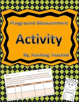 Playground Measurement Activity