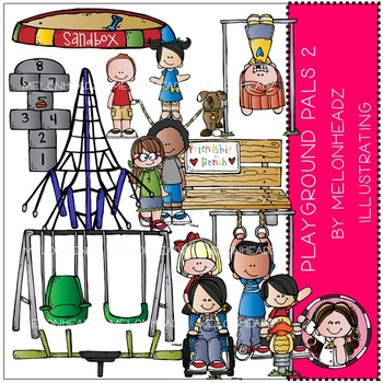 Playground Pals 2 by Melonheadz COMBO PACK