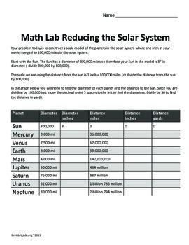 Playground Planetarium: The Solar System | STEAM STEM Astronomy and Math