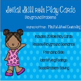 Playground Problems ~ Social Skill Role Play Cards