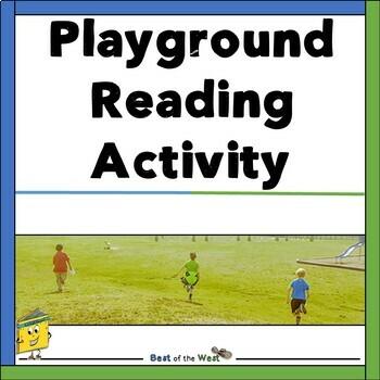 No Prep Playground Reading Tasks.